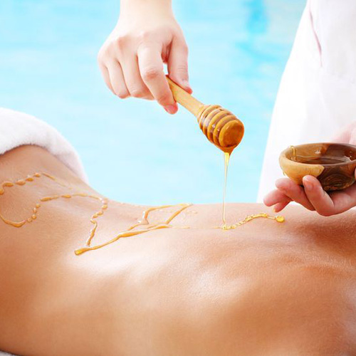 Honey-Detox Back Massage